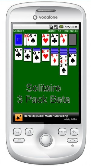 Solitaire 3 pack bata