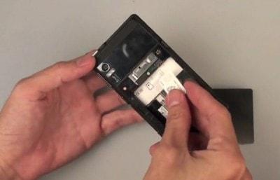 Videoprova Motorola Droid