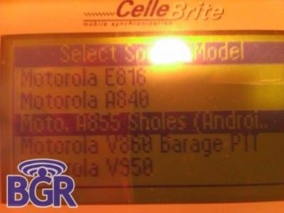 Motorola Sholes e Verizon