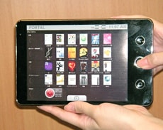 NEC e Tablet Andriod