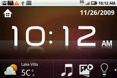 Firmware Eclair per HTC Dream