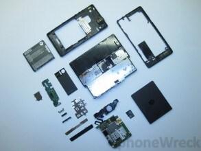 Motorola Milestone smontato
