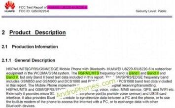 Huawei Pulse versione GSM