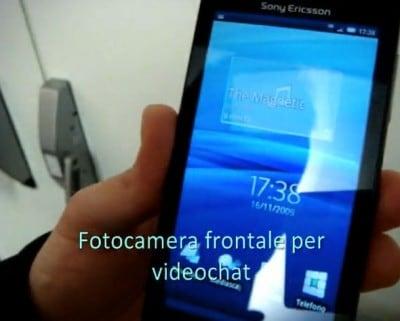 cellularmagazine x10 fotocamera frontale