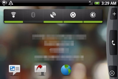 Screen Android 2.1 Flan