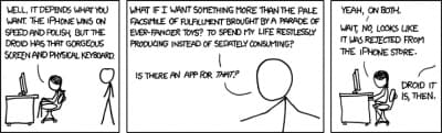 xkcd: Droid vs iPhone