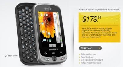 Samsung Moment con Sprint