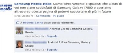 Samsung si scusa