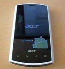 Unboxing Acer Liquid