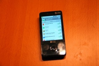Android su HTC Touch Pro