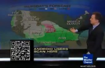 Weather Channel QRcode