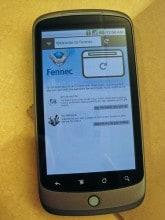 Fennec su Nexus One