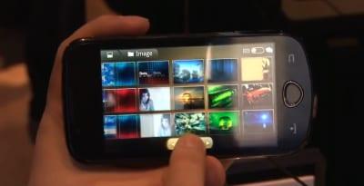 Samsung M100S in video