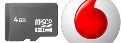 Vodafone e le microSD