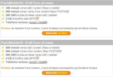 Piani-tariffari-ParlaMobile-Fastweb