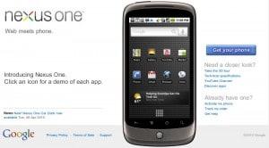 Google Nexus One in Italia