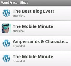 Wordpress 1.1
