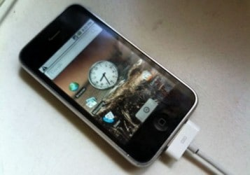 iPhone 3G con Android