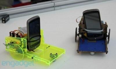 Robot con Nexus One