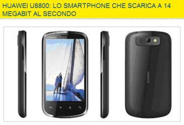 Huawei U8800 da Euronics