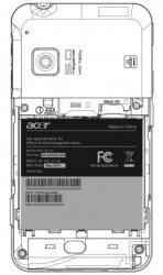 Acer Liquid Stream FCC