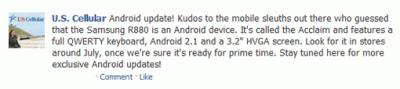 Samsung Acclaim R880