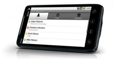 Skype su HTC EVO