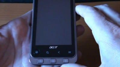 Video Acer Liquid Stream