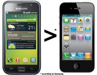 Samsung > iPhone