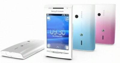 Sony Ericsson Xperia X8 promo