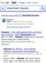 AppSearch su Google