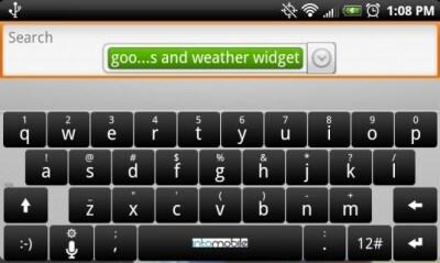 Tastiera personalizzata HTC