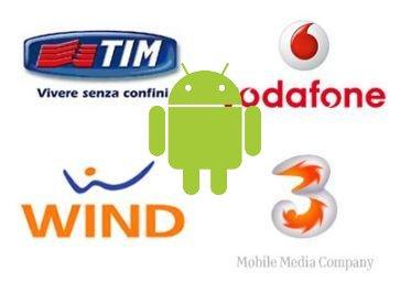 Operatori italiani e Android