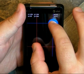 HTC Aria multitouch