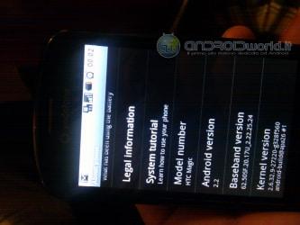 Android 2.2 ufficiale su Magic