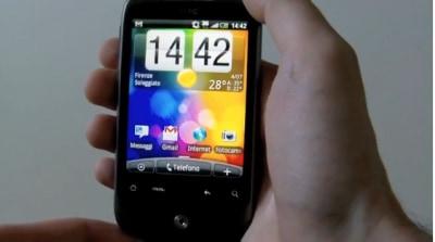Videorecensione HTC Wildfire