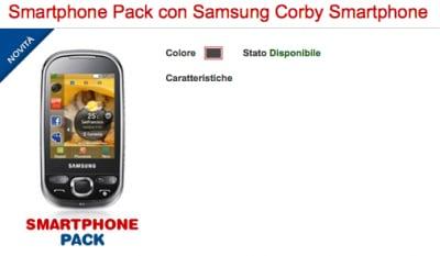 Flash news Corby Smartphone Disponibile