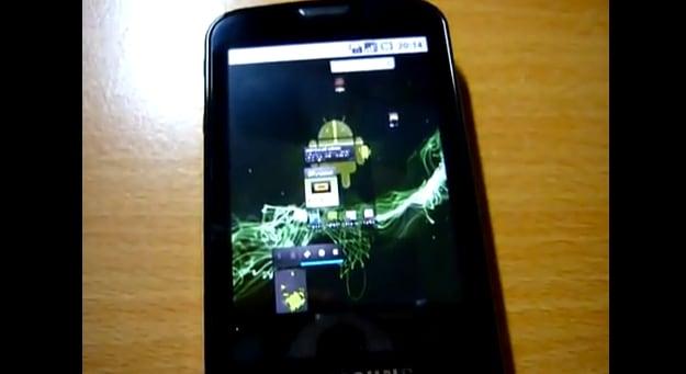 Samsung Galaxy con Froyo