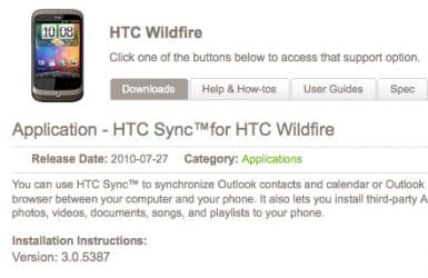 HTC Sync 3
