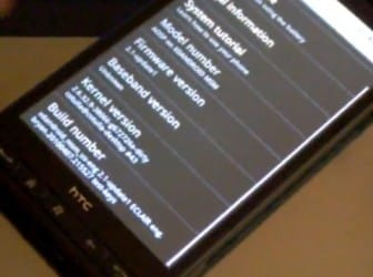 HTC HD2 con Android