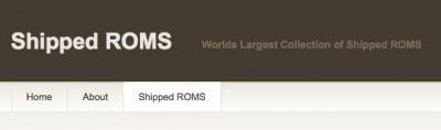 Shipped ROMS