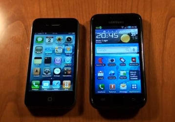 Confronto iPhone 4 e Galaxy S