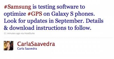 fix per il GPS del Galaxy S