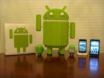 Android di Lego