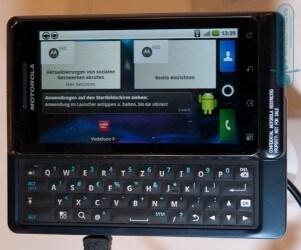 Motorola Milestone 2 con Vodafone