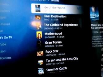 Google TV video