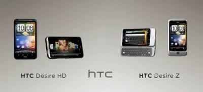 Famiglia HTC Desire