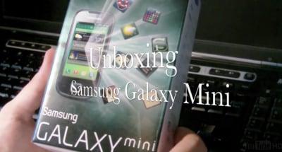 Samsung Galaxy Mini unboxing