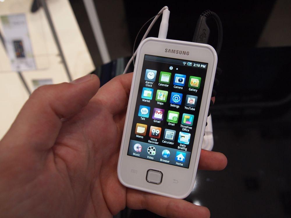 Samsung presenta l'iPod Touch con Android