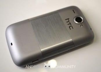 HTC Wildfire silver